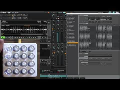 Tutorial: MIDI Mapping Stems In Traktor 2.9 With Midi Fighter Twister