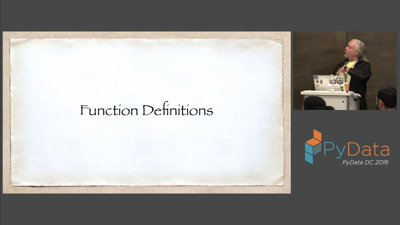 Image from Five Kinds of Python Functions - Steven Lott