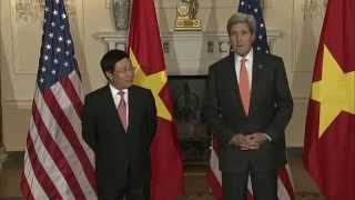 Remarks With Vietnamese DPM/FM Pham Binh Minh Before Their Meeting