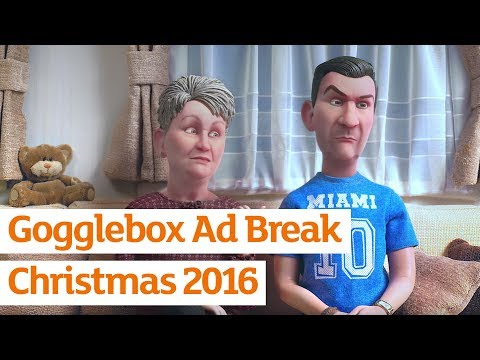 Gogglebox - Stop Motion Ad Break - Official Sainsbury's Christmas