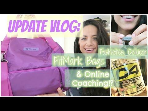 UPDATE VLOG: Cellucor, FitMark Bags, Fashletics & ONLINE COACHING?!