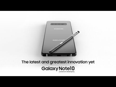 All-screen Galaxy Note 10 imagined in renders with a crazy new feature