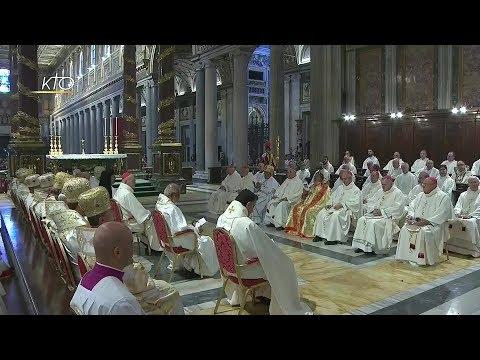 Messe à l'occasion du centenaire de la Congrégation des Eglises orientales