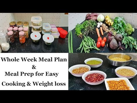Weight loss Diet Plan in Tamil |Weekly Meal Prep  weekly Menu Planning | weekly Diet Chart in Tamil