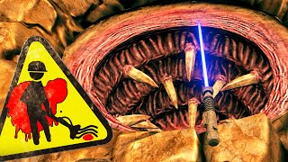 Viscera Cleanup Detail - Lightsaber Duel the Sarlacc Pit! - Gameplay