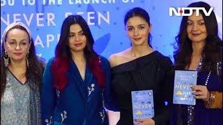 Alia Bhatt And Family At Shaheen Bhatt's Book Launch