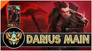 Mr Dunk yo girl - Darius Main Compilation| 1.18 MILLION MASTERY POINTS - League of legends