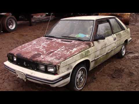 !!SCRAPPED RARE!! 1984 Renault Alliance Encore!!