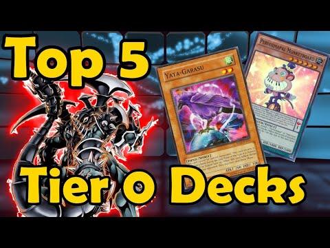 Top 5 Best Tier 0 Decks in the History of YuGiOh