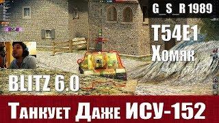 woT Blitz - НЕУБИВАЕМЫЙ танк Хомяк T54E1. Во славу ВБР- World of Tanks Blitz (WoTB)