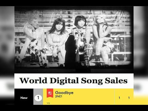 2NE1's 'Goodbye' tops Billboard's World Digital Songs chart!