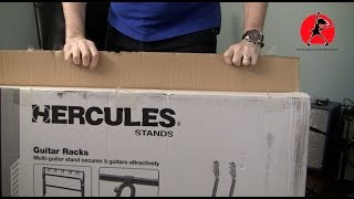 Review of Hercules GS525B Rack Stand for 5 guitars