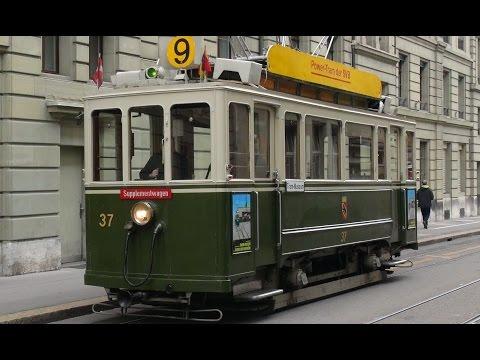 Bern Trams - Driver's Eye View - Part 3
