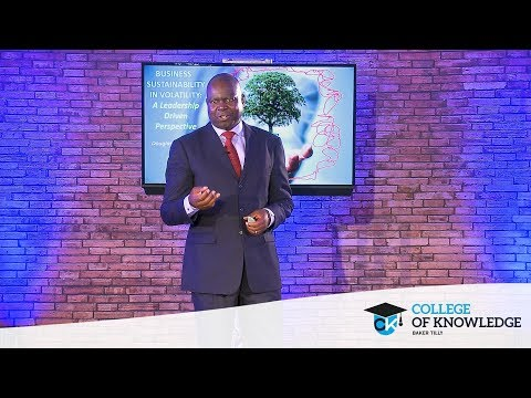 Douglas Mboweni – Business Sustainability in Volatility: A Leadership-Driven Perspective