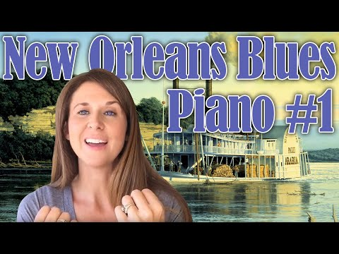 New Orleans Blues Piano #1