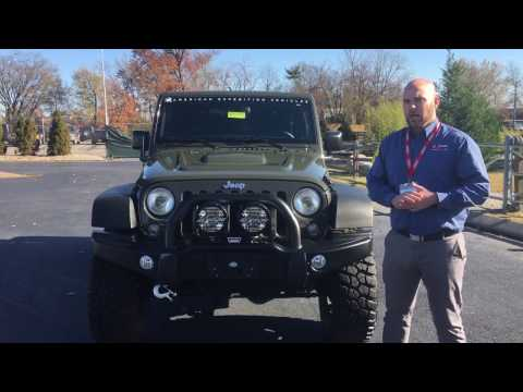 AEV front bumper overview