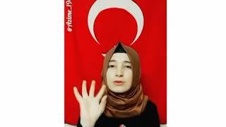 Bilge Kağan Kara - Ulusun Kurt Ulusun 🤘🏻(işaret dili)
