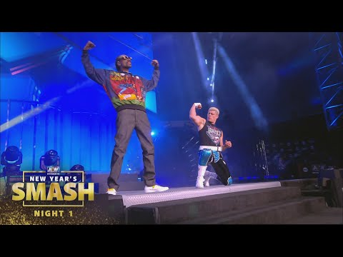 The Coolest Entrance of the Year - Snoop Dogg and Cody Rhodes | AEW New Year's Smash Night 1, 1/6/21