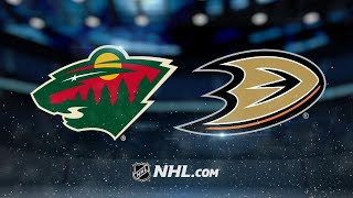 Ducks clinch playoff berth with 3-1 win against Wild