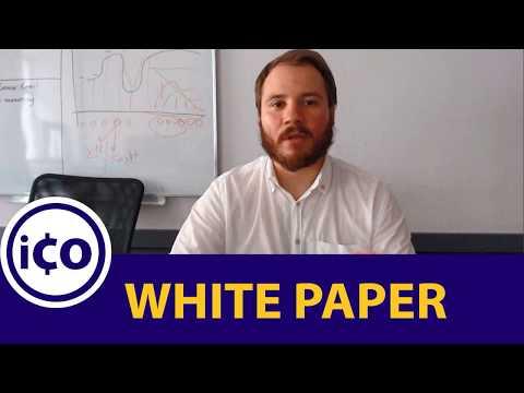 White paper ICO. Проведение ICO