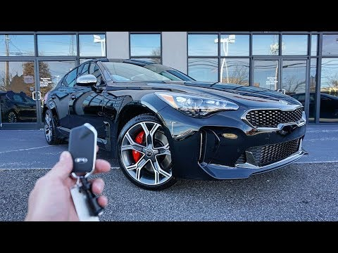 2018 KIA Stinger GT Start Up, Exhaust, Walkaround and Review