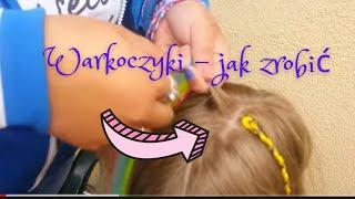 Warkoczyki z syntetycznymi włosami jak zrobic ( syntetic hair braid )