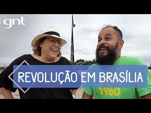 Barbara Gancia passeia por Brasília com Daniel Zukko | Saia Justa e #MinhaBSB
