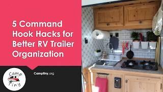 5 Command Hook Hacks for Improved RV Trailer Organizations