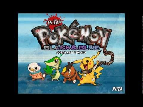 Review of Pokemon Black and Blue - PETA