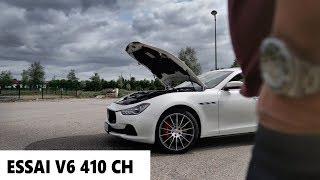 MA MASERATI  GHIBLI SQ4 V6, ELLE CHANTE TRES FORT !