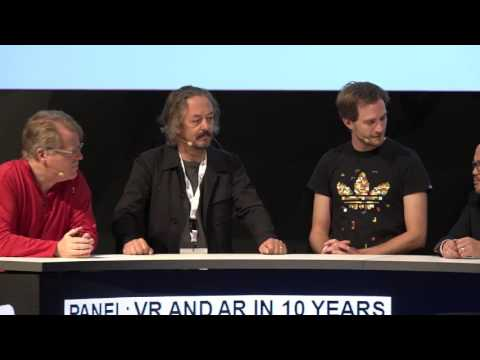 DIGILITY 2016: Panel VR and AR in 10 Years
