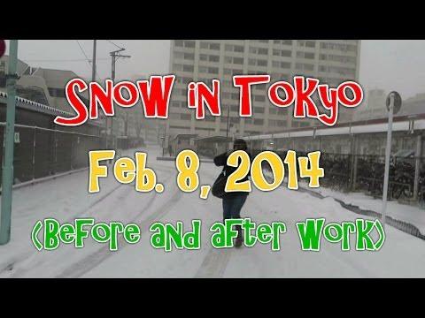 """Snow in Tokyo' (Feb. 8, 2014)"