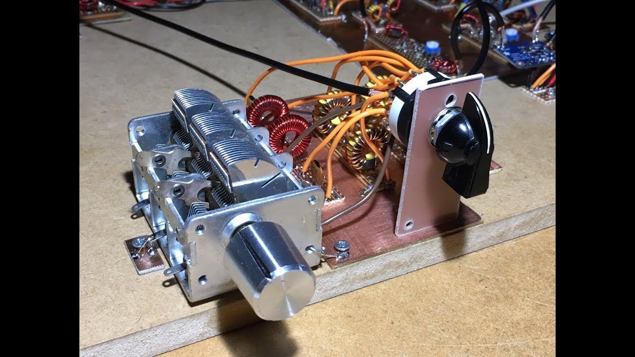 Homebrew 80 40 20m Ssb Rig Part 5a More Receiver Experiments Youtube Circuit Diagram Transceiver 80m 40m