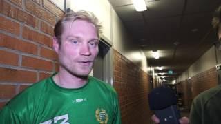 Intervjuer efter Hammarby Bollnäs 0 3
