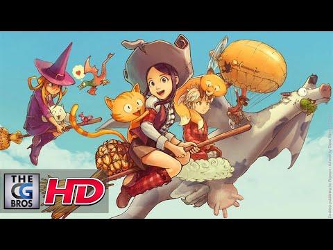 "CGI Animated Short (MOTION COMIC): ""Pepper & Carrot Episode 6: The Potion"" - by Nikolai Mamashev"