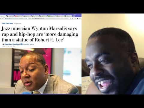 Jazz Musician Wynton Marsalis says Hip Hop more damaging than a statue of Robert E Lee