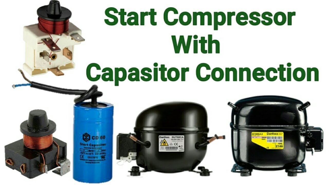 Danfoss Compressor Start Relay Wiring Diagram Complete Current National With Capacitor Connection In Rh Youtube Com Pentair