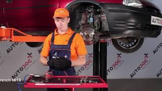 Fitting Anti roll bar bush kit OPEL CORSA B (73_, 78_, 79_): free video