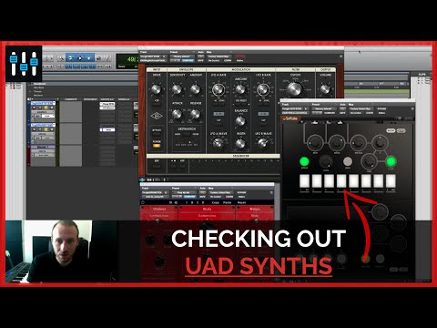 UAD Plugins: Moog Multimode Filters, OTO BISCUIT and bx_subsynth