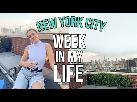NYC WEEK IN MY LIFE: decorating my apartment + flying home for 24 hours