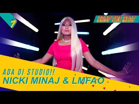 Intro   Wow! Nicki Minaj dan LMFAO Ada Di Drop The Beat??