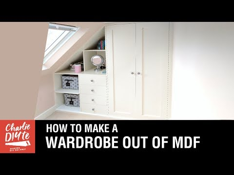 How to Make a Fitted Wardrobe out of MDF