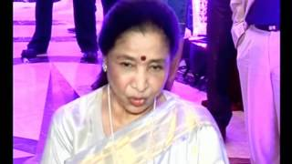 Sunidhi Chauhan Wedding Reception. Asha Bhosle present