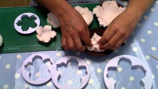 How to make an easy  Peony Flower by Le Beau Cake