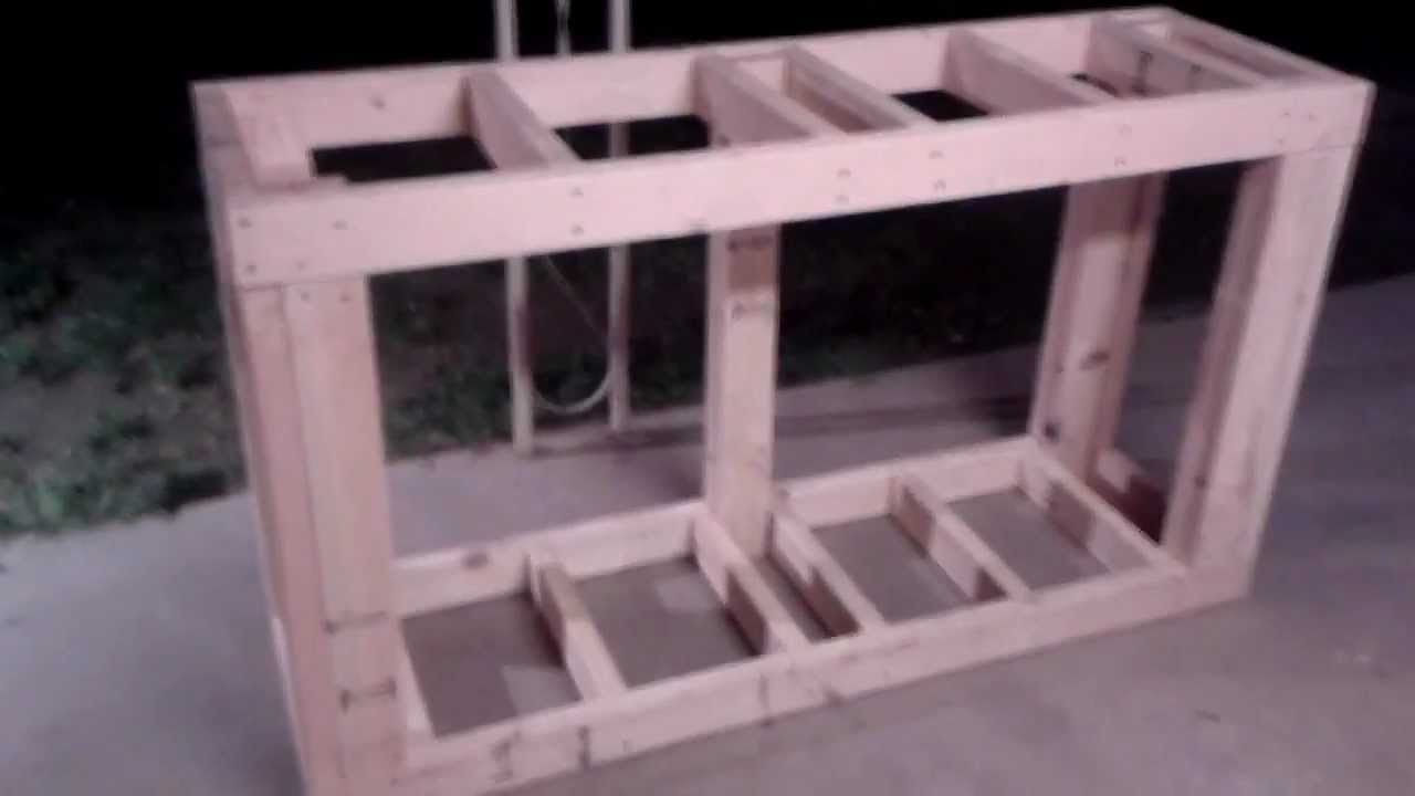 150 Gallon Reef Tank Build Update 5 Building The Stand Part 1 You