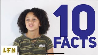 10 RANDOM FACTS | MY SISTER FAITH LOGAN