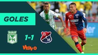 Nacional vs. Medellín (1-1) Liga BetPlay Dimayor 2020-I  | Fecha 7