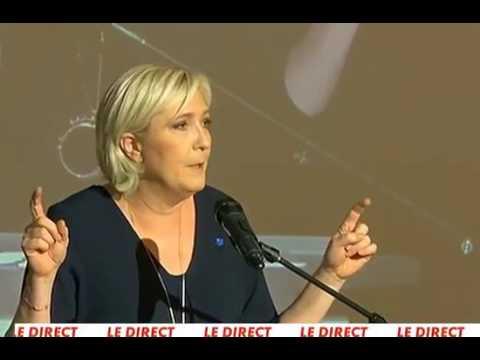 Meeting de Marine Le Pen à Ajaccio en Corse: identité Française, identité de chaque peuple.