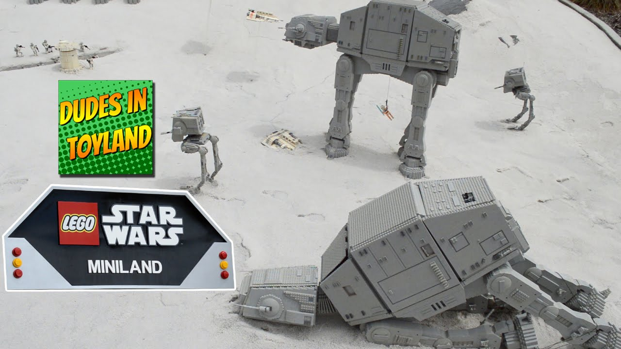 Lego Star Wars Legoland Miniland California 2016 Toy Videos For Kids