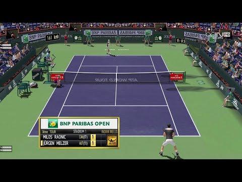 Raonic vs Melzer  | R3 Indian Wells Masters1000  | Ép.84 Tennis Elbow 2013